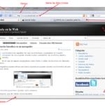 Partes de un navegador