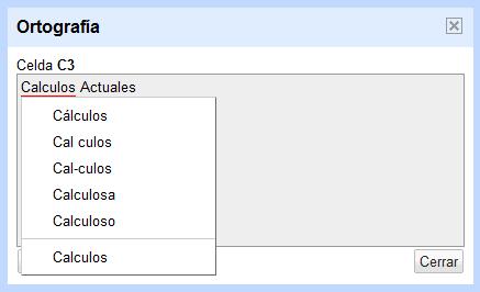 Revisar la ortografía de una hoja de cálculo de Google Docs - Ayuda ...